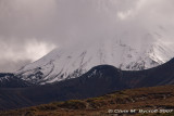Ngauruhoe in the clouds