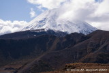 Can briefly see the summit of Ngauruhoe