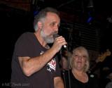Jody Denberg (KGSR) and Margaret Moser (Austin Chronicle)