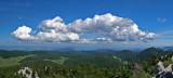 View from Mali Rajinac peak (1699m)