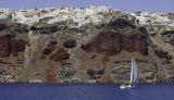 Santorini is.