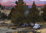 morning at ramhorn campground
