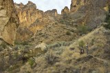 Leslie gulch side canyon