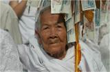 Old woman-Wat Than (Phnom Penh)