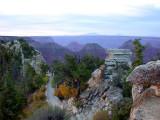 Bright Angel trail Gand Canyon .psd