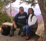 Marc & Joan @ Grand Canyon.jpg