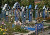 Merry Cemetery in Sapanta,Romania