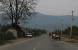 road in Bukowina