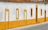 Yellow and white doors and windows