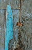 The blue oar...