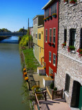 Erie Canal in Lockport