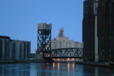 Ohio Street Bridge in Early Morning