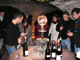 tasting at Corton André