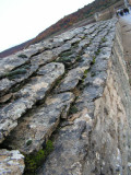 the wall of Clos de Vougeot