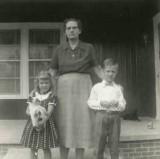 Virginia Ann, Ollie and David Leslie Fingleman