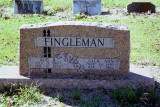 Headstone of August and Ollie Fingleman
