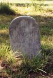 Headstone of Benjamin Modelle Green