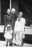 Willis Patton Means with his daughter, grand-daughter and great-grandchildren