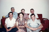 Will, Kate, Oscar, Wayne, Mildred and Bill Reed