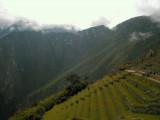 terraced steps of Machu Pichu