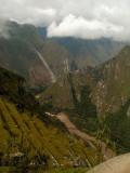 Muddy Urubamba River Below
