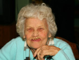 91 Years and She's Still a Goofball...