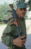 Bosnia soldier in Vitez