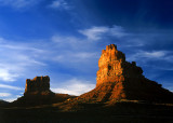 Monoliths at Sunset
