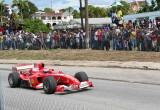 F1 Ferrari in Barbados