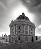 Oxford in black and white