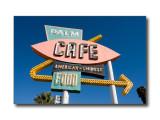 'Palm Cafe' SignBarstow, CA