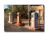 Old Gas PumpsNear Ludlow, CA