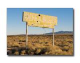 'Cafe & Motel' SignLudlow, CA