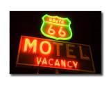'Route 66 Motel' SignBarstow, CA