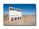 Antiques SignKramer Junction, CA