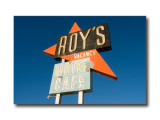'Roy's Motel & Cafe' Sign, Rte. 66Amboy, CA