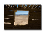 Log Cabin WindowFred's Well, NV