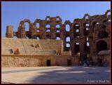 Remnants of Colosseum, El-Jem