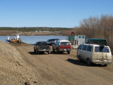 Waiting for the ferry to open for season