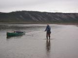 I learned to track upriver