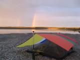 Late night rainbow