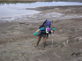 Sticky mud!
