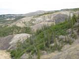 Sulfuric acid clay-ifying sed. rock?
