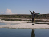 I just loved the ice, some floes big