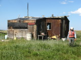 Better maintained, multi-family subsistence camp