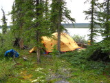 Back in the boreal forest, last camp