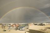 Rainbow after Dust Storm