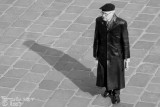 shadow of a man in black (& white)