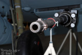 the 20mm gun fired through the spinner