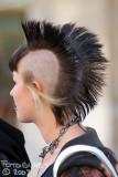 Punk hayrstyle! Cool!!!